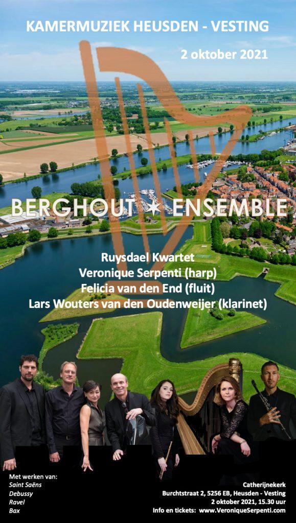 Flyer Berghout Ensemble