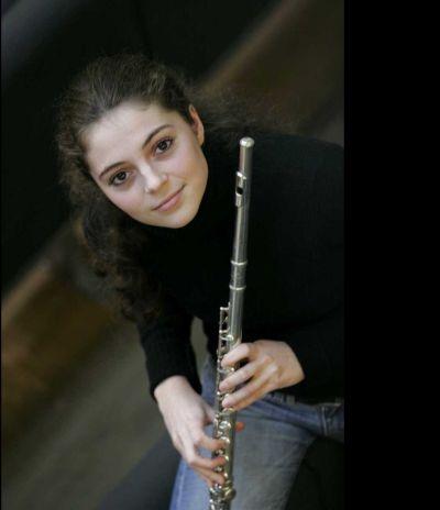 Felicia van den End, fluit